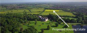 proposed housing estate