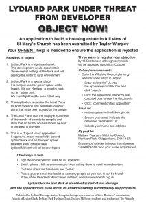 LHAG leaflet